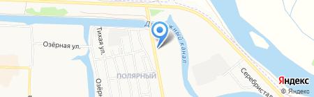 Полярник на карте Абакана