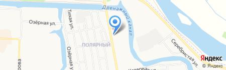 Росток на карте Абакана