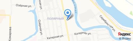 Магазин продуктов на ул. Маршала Жукова на карте Абакана