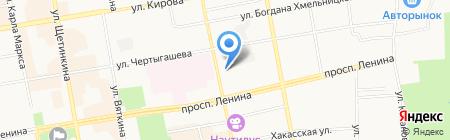 ruNail на карте Абакана
