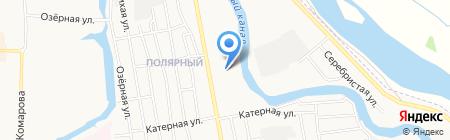 Участковый пункт полиции №10 на карте Абакана