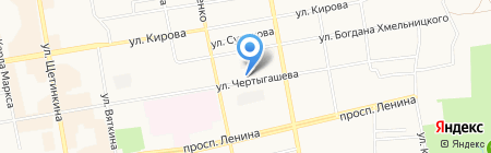 Государственная инспекция по маломерным судам МЧС России по Республике Хакасия на карте Абакана
