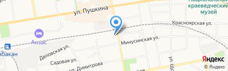 ЕлИСей-Лизинг на карте Абакана