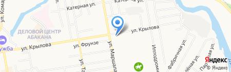 Дилижанс-Авто на карте Абакана