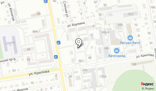 Ингосстрах-М. Схема проезда в Абакане