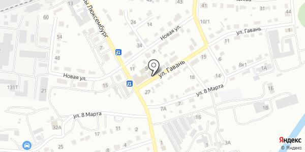 Серебряный шар. Схема проезда в Абакане