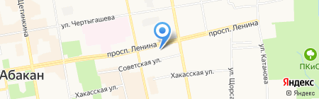 Центр бухгалтерского сопровождения на карте Абакана