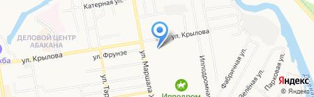 ДСУ-Сервис на карте Абакана