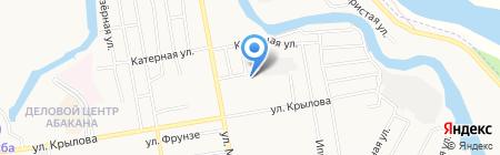 ВидеоТехника-Сервис на карте Абакана