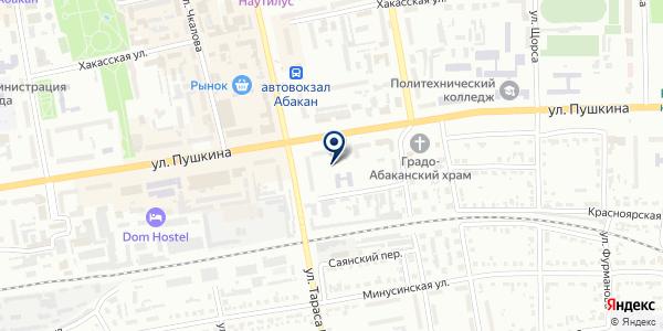 Сумо суши на карте Абакане