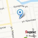 Подразделение экономической безопасности МВД России на карте Абакана
