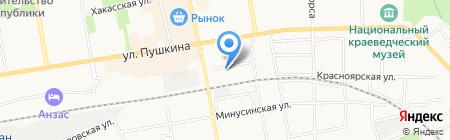 Пенетрон-Абакан на карте Абакана
