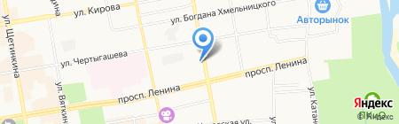 Магазин бытовой химии хозяйственных и канцелярских товаров на ул. Маршала Жукова на карте Абакана