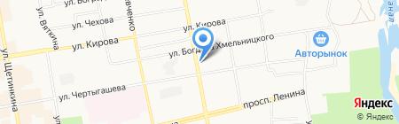 Росс-Тур на карте Абакана