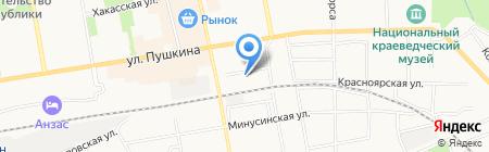 RenaultMarket на карте Абакана