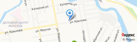 Авто Land на карте Абакана