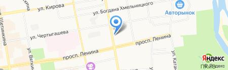 АйТи-Инлайн на карте Абакана