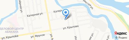 АвтоХакасия автоцентр Chery на карте Абакана