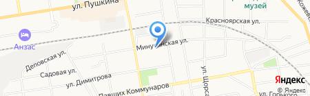 Участковый пункт полиции №2 на карте Абакана