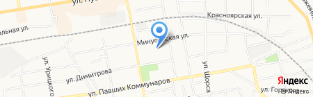 Стальноff на карте Абакана