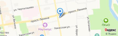 Банкомат Совкомбанк на карте Абакана