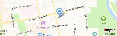 Элита Сибири на карте Абакана