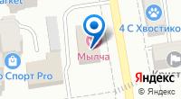 Компания *баня-мылча* на карте