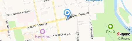 Поликлиника на карте Абакана