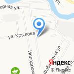 Отдел ГИБДД Управления МВД России по г. Абакану на карте Абакана