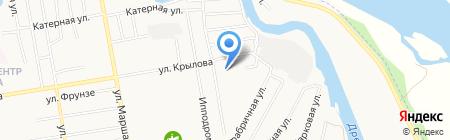 Компания по обслуживанию и ремонту автоцистерн на карте Абакана