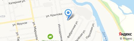 ХакАвтоЦентр на карте Абакана