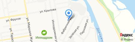 Вмятин.NET на карте Абакана