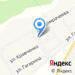 Кайбальский сельский Дом культуры на карте Абакана