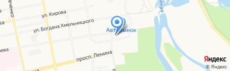 Ёшкин Кот на карте Абакана