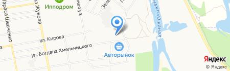 Магазин автозапчастей на карте Абакана