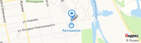 Магазин аккумуляторов на карте Абакана