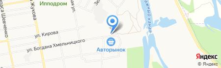 Авторынок на карте Абакана