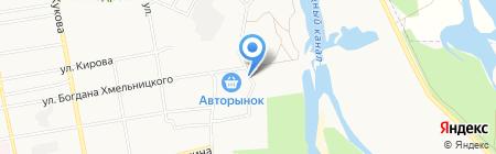 Нур24 на карте Абакана