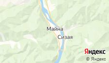 Отели города Майна на карте