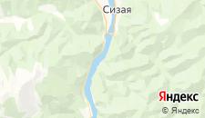 Гостиницы города Кибик на карте