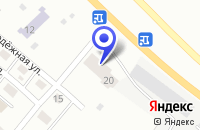 Схема проезда до компании АКАБАНСКИЙ ФИЛИАЛ СИБМОСТ-МОСТОТРЯД 91 в Абакане