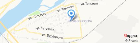 Участковый пункт полиции №3 на карте Абакана