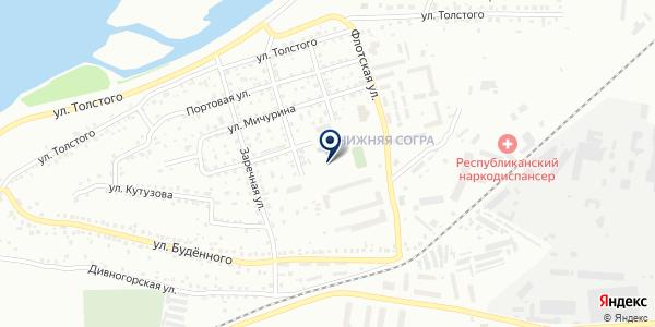 Участковый пункт полиции №3 на карте Абакане