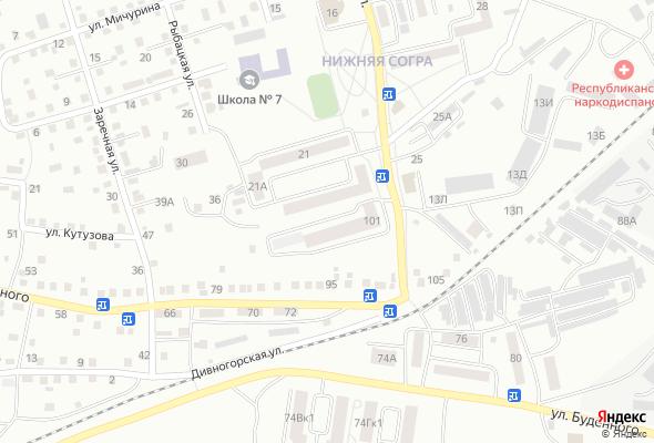 жилой комплекс по ул. Буденного