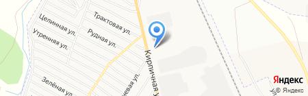 ДОЛИНА КАМНЕЙ на карте Абакана