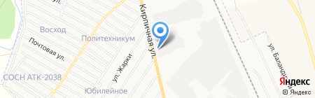 Компания по производству памятников на карте Абакана
