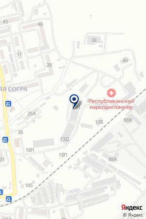 СаянСкан на карте Абакана