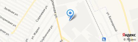 Втормет на карте Абакана