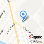 Иванова Г.В. на карте Абакана