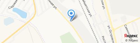 ФИНСИБ на карте Абакана